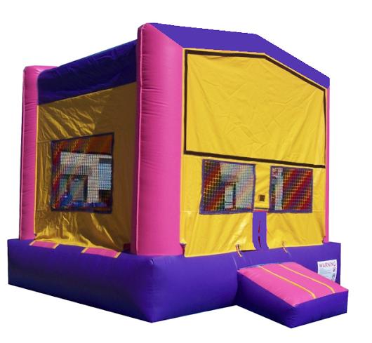 Pink Amp Purple Castle Jumper