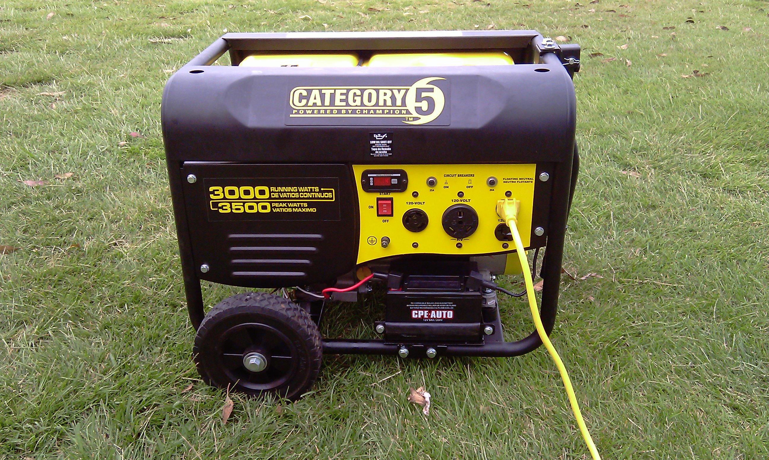 Generator 3000 watts for Single Jumper