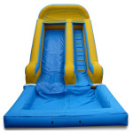 18 ft dry slide (wet option)