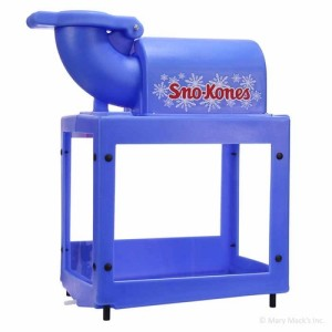 $60 with the rental of our inflatables, the Snow Cone Machine comes with 50 servings, for an extra $20 you get an extra 50 servings.