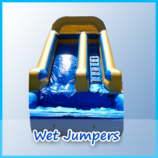 Wet jumpers page from A Bounce Above Party.