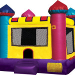 mini castle bounce house