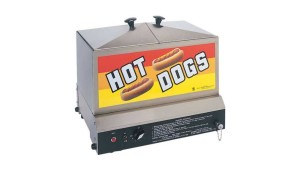 Feed the family with the hot dog steamer. 80-90 hot dogs for medium to small groups easy to use also comes with 30-40 bun storage for safe storing of buns has 6-qt. water capacity